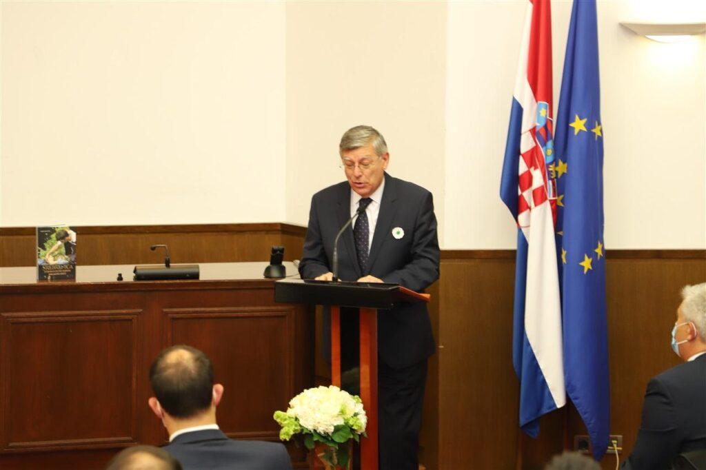 Potpredsjednik Hrvatskog sabora Željko Reiner
